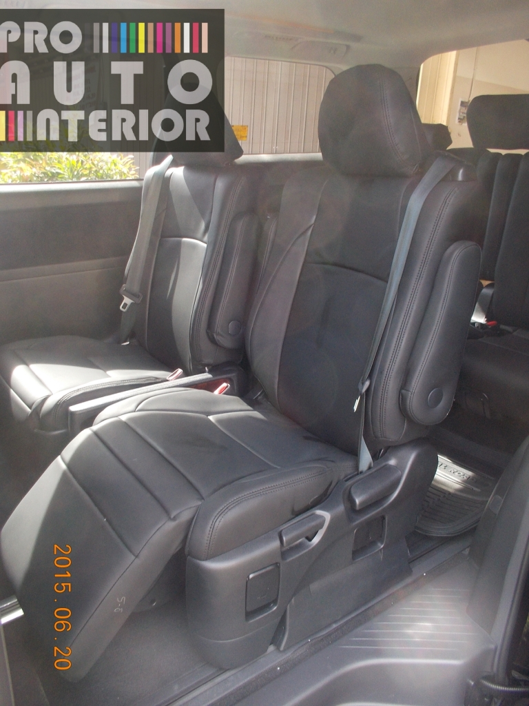 Toyota Vellfire Articoleder Nappa Black