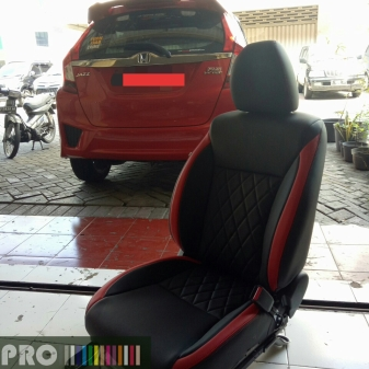 All New Jazz Sporty MBTech Carrera Black & Red