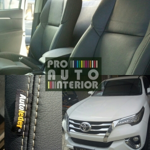 Autoleder Black for Toyota Fortuner Reborn 2016
