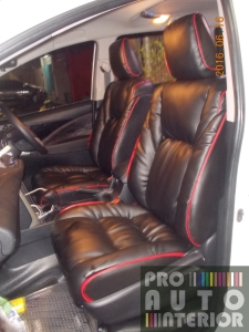 Toyota Innova Reborn Nappa Leather Model Jok Sofa Garson