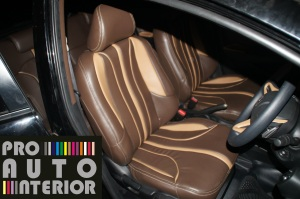 Brownies and Beige Interior Honda Jazz