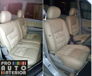 Elegant and comfortable design for Avanza