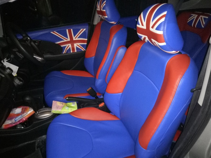Honda Jazz design Custom British Flag (bendera Inggris)