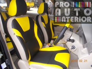 Ertiga MBtech three tone black-yellow-beige