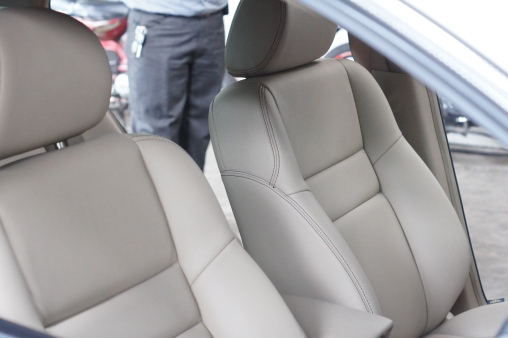 A-Class Leather Beige