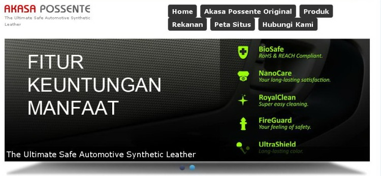 Akasa Possente Synthetic Leather (RoHS approved, Fireproof)