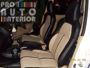 Honda Mobilio Elegant Beige and Black by MBtech