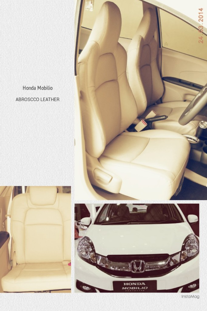 Original Leather for Honda Mobilio