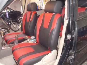 Toyota Rush Black & Red Sporty