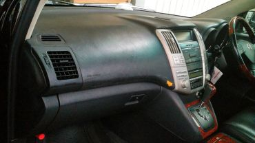 Cracked Dashboard Harrier
