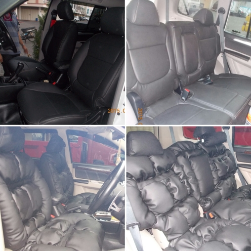 Jok Mobil Pajero Sport (model original dan model sofa)